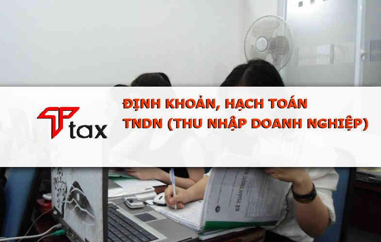 cách định khoản hạch toán kế toán