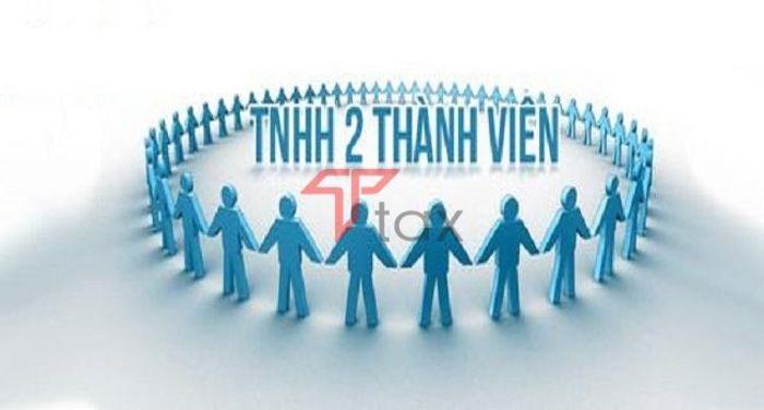 Công ty TNHH 2 thành viên là loại hình doanh nghiệp có từ 2 thành viên cho đến tối đa 50 thành viên