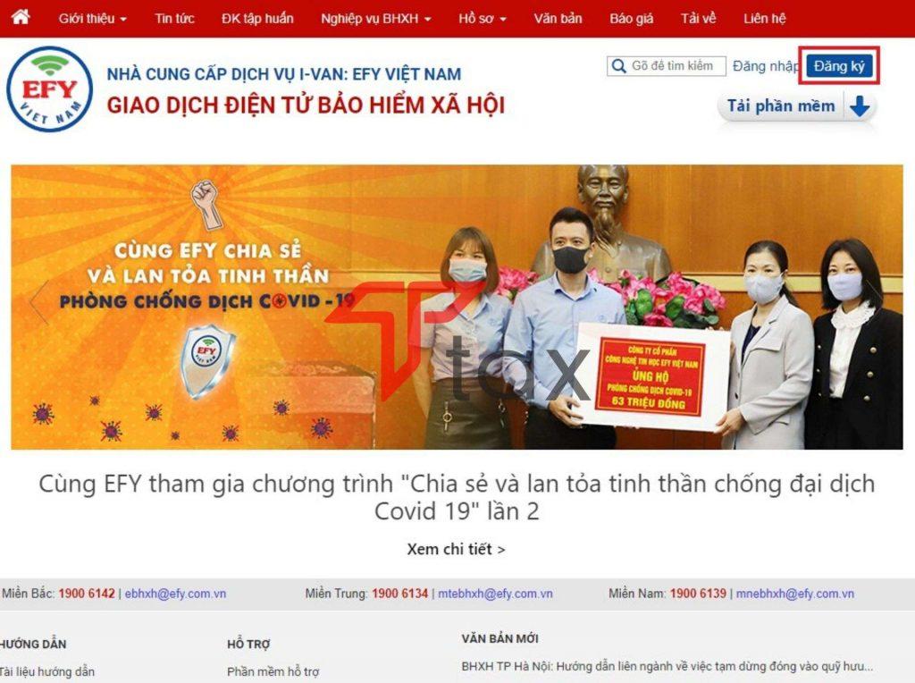 Đăng ký mã số bảo hiểm xã hội cho công ty online