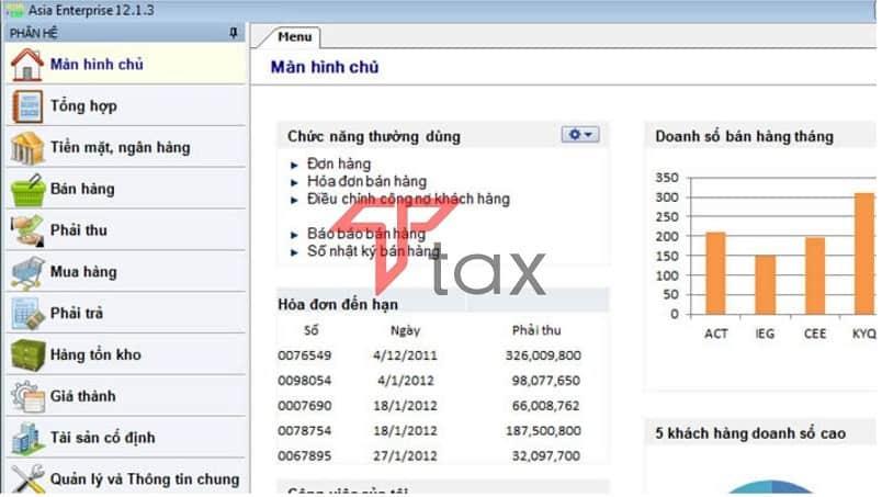 Phần mềm kế toán AsiaSoft