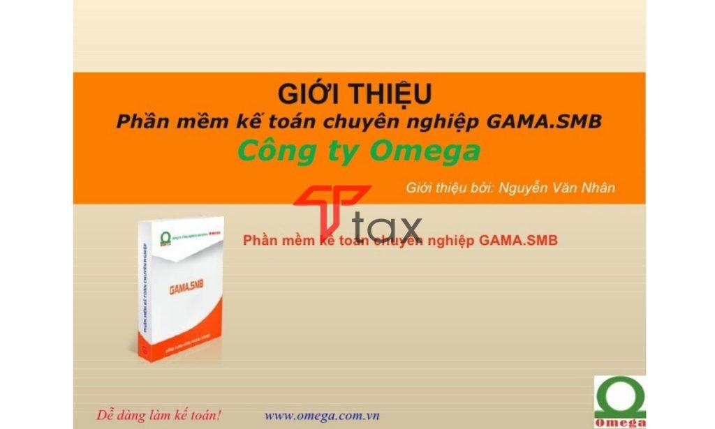 Phần mềm GAMA thuộc sở hữu của công ty TNHH công nghệ và giải pháp Omega