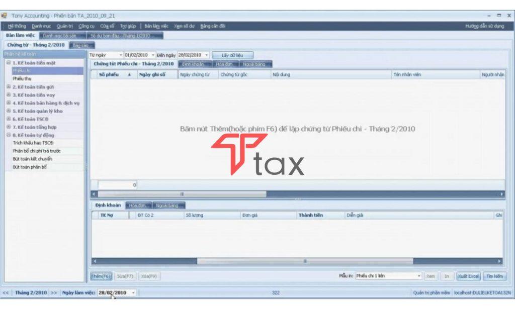 Phần mềm Tony là trợ thủ đắc lực cho các doanh nghiệp có quy mô vừa và nhỏ