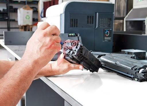 Cách đổ mực máy in HP