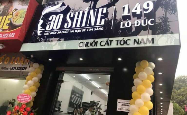 Mẫu bảng hiệu tiệm cắt tóc