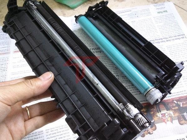 Tháo lắp đổ hợp mực máy in