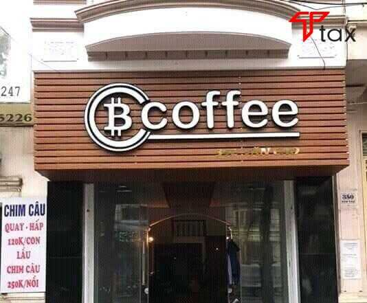 Bảng hiệu cà phê