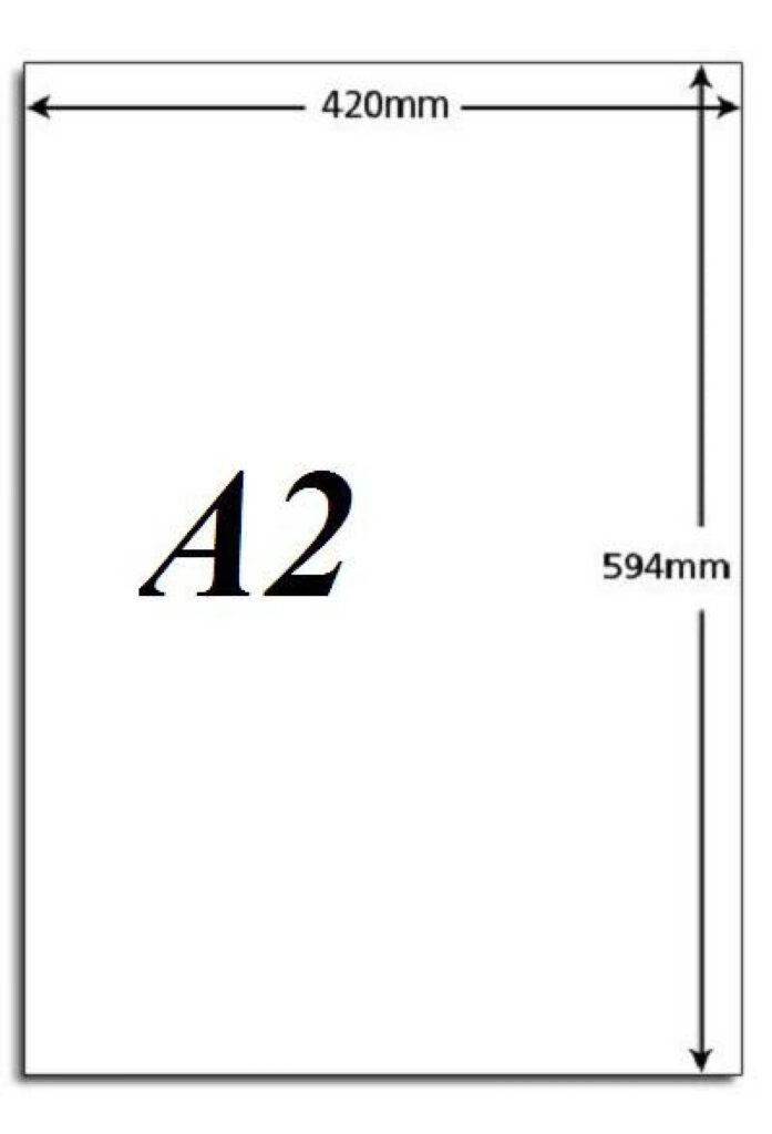 Kích thước khổ giấy in